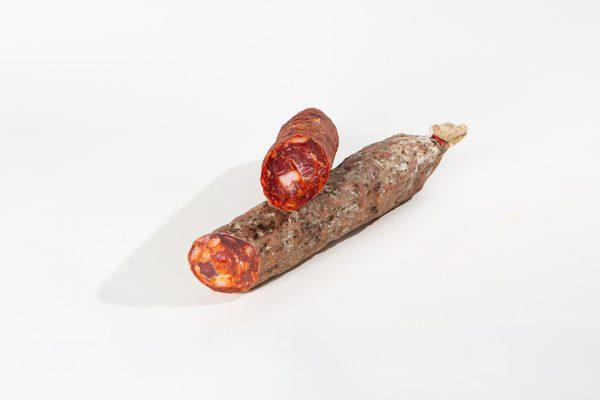 chorizo cular de bellota iberico pieza jamivi