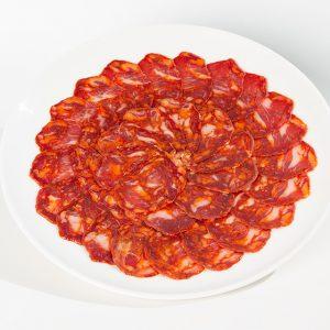 chorizo cular de bellota iberico loncehado jamivi