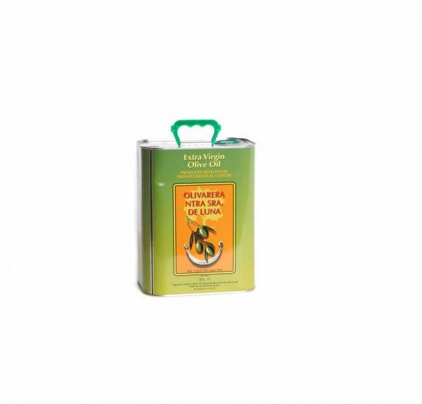 lata 3l aceite de oliva virgen extra ecológico ntra. señora de luna Villanueva de Córdoba jamondecordoba Jamivi
