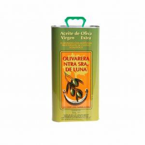 lata 5l aceite de oliva virgen extra ecológico ntra. señora de luna Villanueva de Córdoba jamondecordoba Jamivi