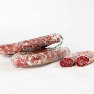 Longaniza salchichón bellota Ibérico Jamivi