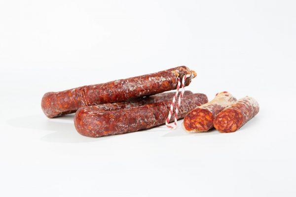 Longaniza chorizo bellota Ibérico Jamivi