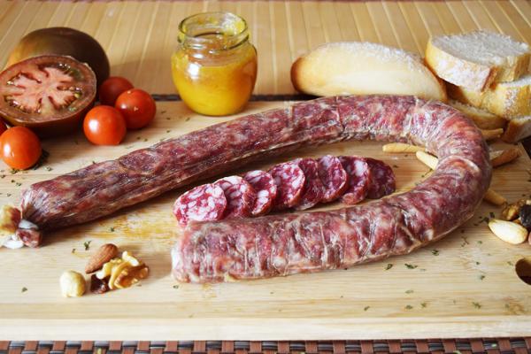 longaniza salchichon iberico