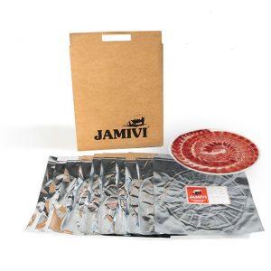 jamón de bellota ibérico jamivi jamon de villanueva de Córdoba jamondecordoba pack de 10 sobres
