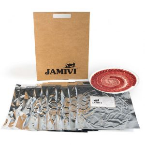 jamón de cebo ibérico jamivi jamon de villanueva de Córdoba jamondecordoba pack de 10 sobres