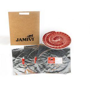 jamón de bellota ibérico jamivi jamon de villanueva de Córdoba jamondecordoba pack de 3 sobres