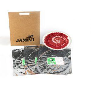 pack de 3 sobres jamón de cebo de campo ibérico jamivi jamon de villanueva de Córdoba jamondecordoba