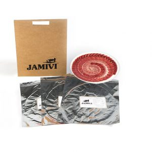 jamón de cebo ibérico jamivi jamon de villanueva de Córdoba jamondecordoba pack de 3 sobres