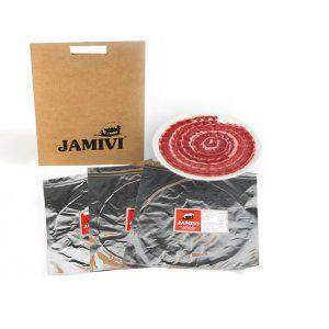 paleta de bellota ibérico jamivi jamon de villanueva de Córdoba jamondecordoba pack de 3 sobres