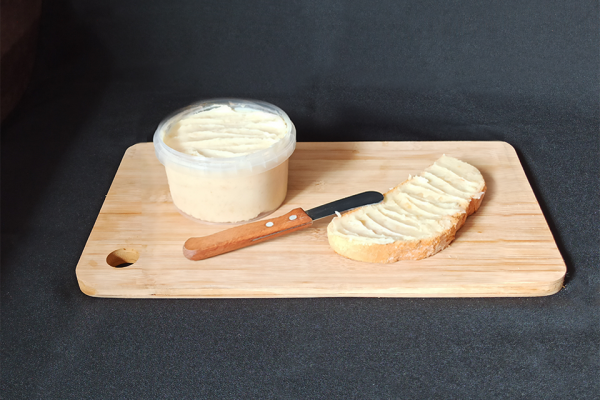 Crema ibérica de queso