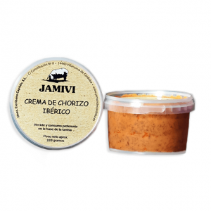 Crema de chorizo ibérico Jamivi