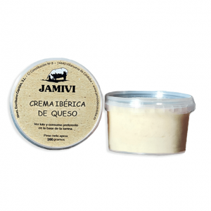 Crema de queso curado Jamivi
