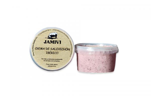 Crema de salchichón ibérico Jamivi