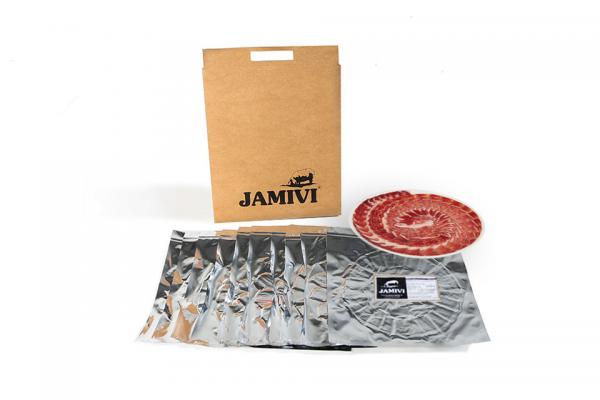 Jamón de Bellota 100% Ibérico - Pack 10 sobres