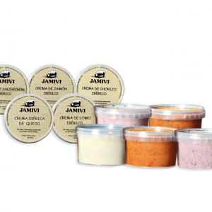 pack de cremas ibéricas Jamivi